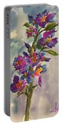She Blooms Portable Battery Charger