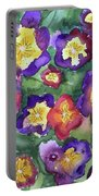 Pansy Party Portable Battery Charger