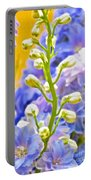 Flowers 39 Portable Battery Charger