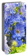 Flowers 41 Portable Battery Charger