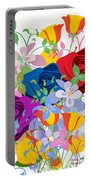 Flowers 7 Portable Battery Charger