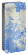 Flowers Abstract 2 Portable Battery Charger