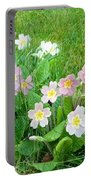 Flowers Along The Edge 1006 Portable Battery Charger