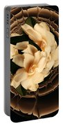 Flowers And Chocolate Portable Battery Charger