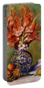 Flowers And Fruit 1889 Portable Battery Charger