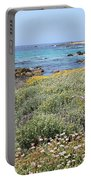Flowers And Surf Portable Battery Charger