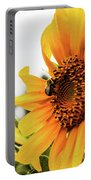 Flowers And The Bees Portable Battery Charger