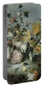 Flowers, Anonymous, C. 1700 - C. 1799 Portable Battery Charger