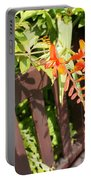 Flowers' Bench Portable Battery Charger
