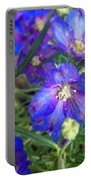 Flowers Blooming Portable Battery Charger