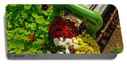 Flowers By Green Bench Portable Battery Charger