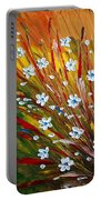 Flowers Field Portable Battery Charger