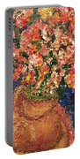Flowers For Mary Portable Battery Charger