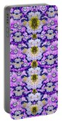Flowers From Sky Bringing Love And Life Portable Battery Charger