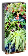 Flowers In Garden 3 Portable Battery Charger