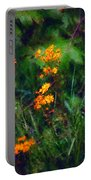 Flowers In The Woods At The Haciendia Portable Battery Charger