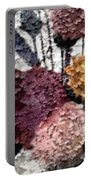 Flowers In Winter Portable Battery Charger