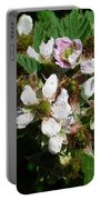 Flowers Of Berries Portable Battery Charger