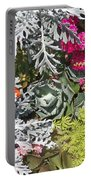 Flowers Of Boca II Portable Battery Charger