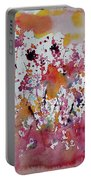 Flowers Of Field Portable Battery Charger