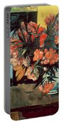 Flowers Of France Portable Battery Charger