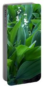 Flowers Of Hapiness Portable Battery Charger
