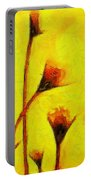 Flowers Of Love  - Van Gogh -  - Pa Portable Battery Charger