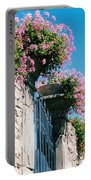 Flowers Of Panzano Photograph Portable Battery Charger