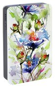 Flowers Of Summer Portable Battery Charger