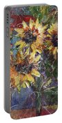 Flowers Of The Gods Portable Battery Charger