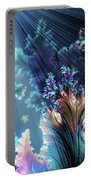 Flowers Of The Sea Portable Battery Charger