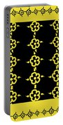 Flowers Pattern Portable Battery Charger