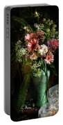 Flowers Still Life Portable Battery Charger