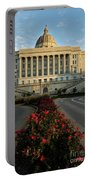 Flowers To The Capital Portable Battery Charger