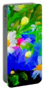 Flowers Two Portable Battery Charger