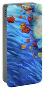 Flowing Fall Portable Battery Charger