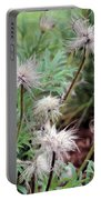 Fluffy Flowers Portable Battery Charger