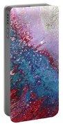 Fluid Acrylic Art Portable Battery Charger