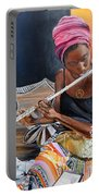 Flute Player Portable Battery Charger