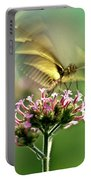 Fluttering Butterfly Portable Battery Charger by Heiko Koehrer-Wagner