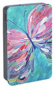 Fluttering Jewel Portable Battery Charger