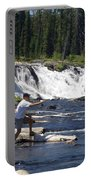 Fly Fishing The Lewis River Portable Battery Charger