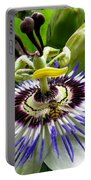 Fly On A Passion Flower Portable Battery Charger