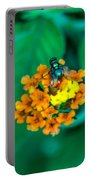Fly On Flower Portable Battery Charger