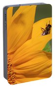 Fly On Sunflower Portable Battery Charger