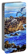 Flying High Over California Portable Battery Charger