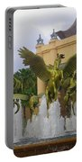 Flying Horses Of Atlantis Portable Battery Charger