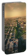 Flying Over Jersey City Portable Battery Charger