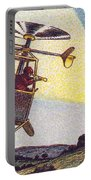 Flying Sentinel, 1900s French Postcard Portable Battery Charger