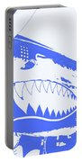 Flying Tiger Blue Portable Battery Charger